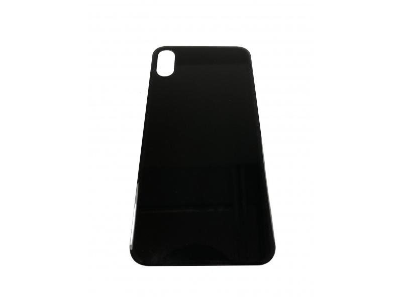 Kryt baterie Back Cover Glass + Big Camera pro Apple iPhone X, černá