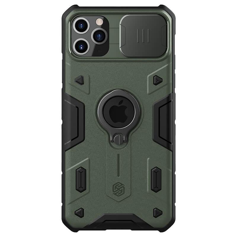 Zadní kryt Nillkin CamShield Armor pro Apple iPhone 11, tmavě zelená