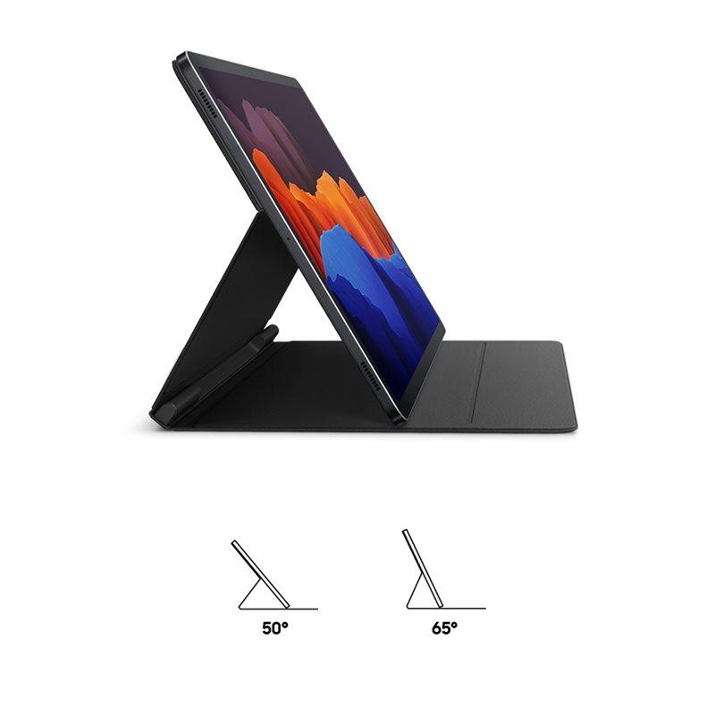 Samsung flipové pouzdro, obal, kryt EF-BT970PBE pro Galaxy Tab S7+ black