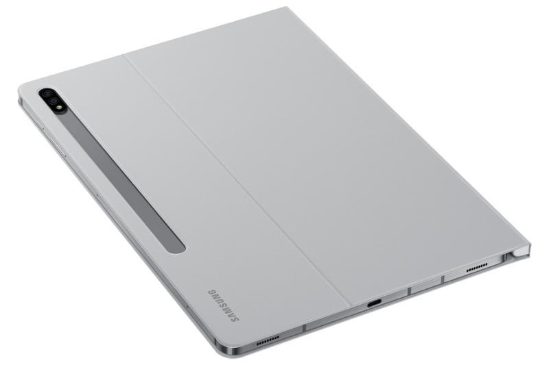 Samsung flipové pouzdro EF-BT970PJE pro Galaxy Tab S7+ light grey