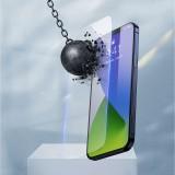 Tvrzené sklo Baseus Full Anti-Blue Light pro Apple iPhone 12 Pro Max, černá