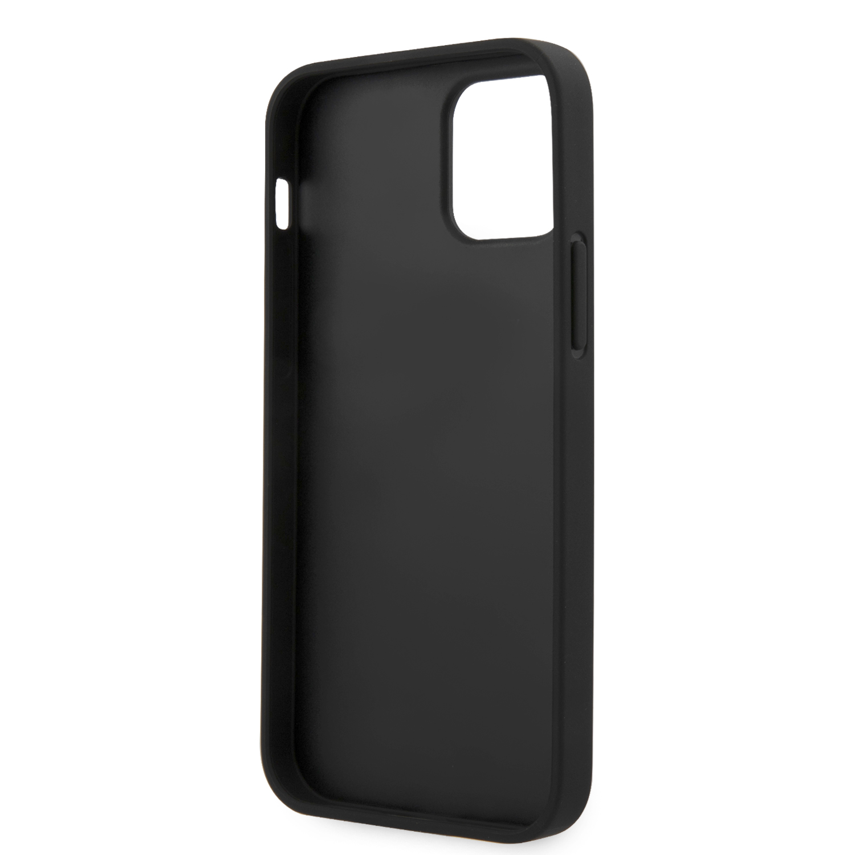 Karl Lagerfeld Saffiano Iconic kryt KLHCP12MIKMSBK Apple iPhone 12/12 Pro black