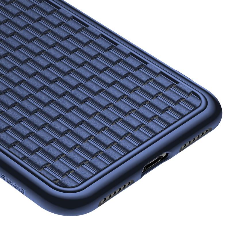 Silikonové pouzdro Baseus BV Case 2nd generation pro Apple iPhone XR, modrá