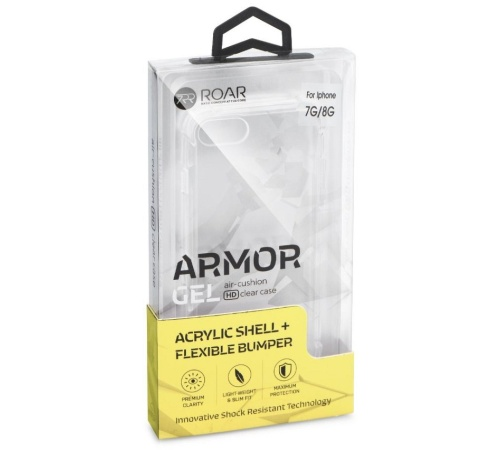 Kryt ochranný Roar Armor Gel pro Appe iPhone 12/12 Pro, transparentní
