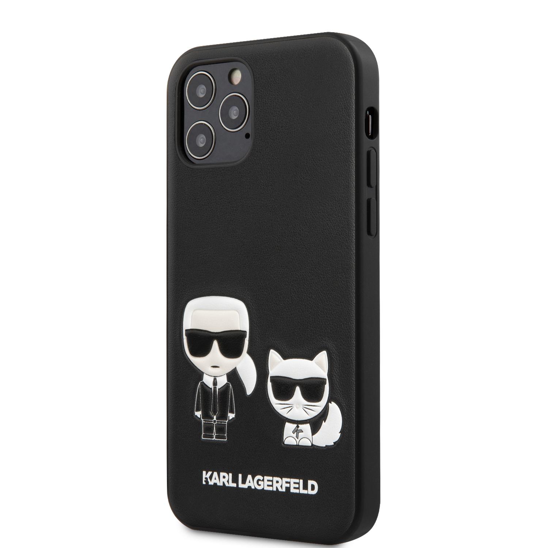 Karl Lagerfeld Karl & Choupette zadní kryt KLHCP12LPCUSKCBK Apple iPhone 12 Pro Max black