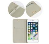 Forcell Luna flipové pouzdro, obal, kryt pro Apple iPhone 12 Pro Max silver
