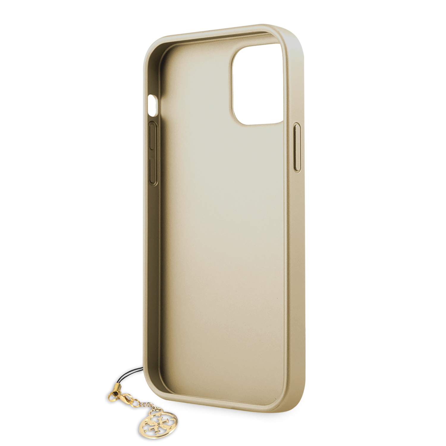 Guess 4G Charms zadní kryt GUHCP12MGF4GGR Apple iPhone 12/12 Pro grey