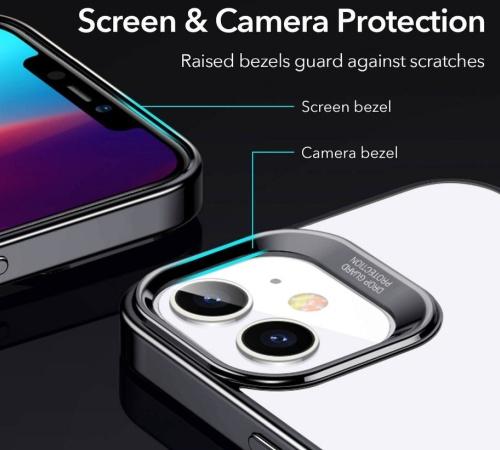Ochranný kryt ESR Halo pro Apple iPhone 12/12 Pro, černá