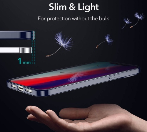Kryt ochranný ESR Halo pro Apple iPhone 12 mini, černá