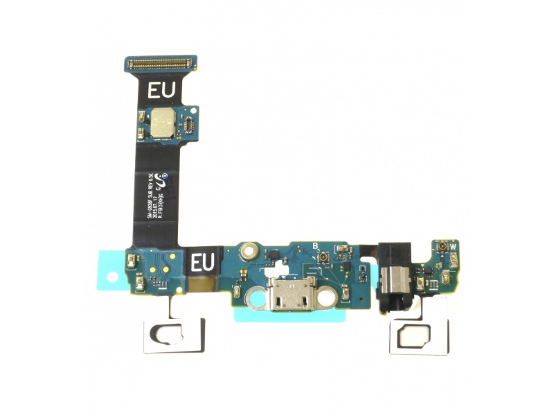 Nabíjecí konektor + Mikrofon pro Samsung Galaxy S6 Edge Plus (OEM)