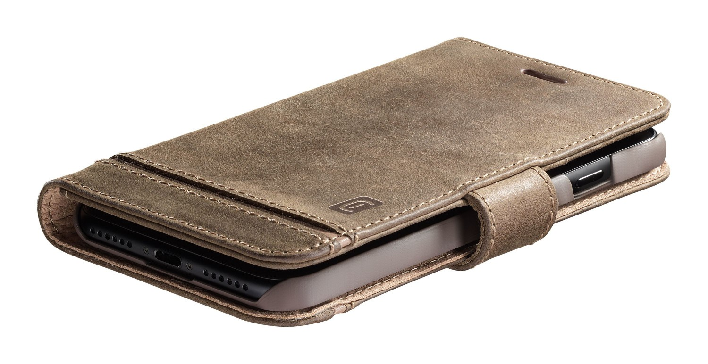 Cellularline Supreme flipové pouzdro, obal, kryt Apple iPhone 12 Pro Max brown