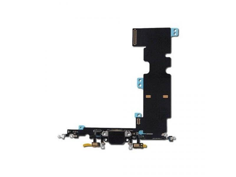 Nabíjecí konektor + flex kabel pro Apple iPhone 8 Plus (Grey)