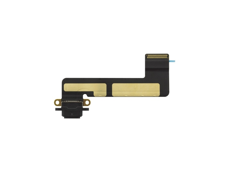 Nabíjecí konektor + Flex kabel Black pro Apple iPad Mini 2