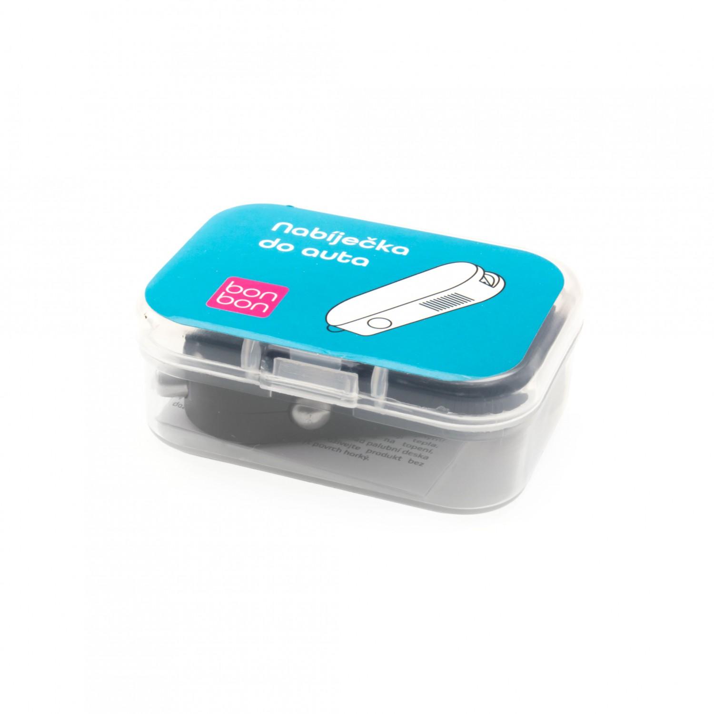Autonabíječka Bonbon s USB výstupem, 10W, černá