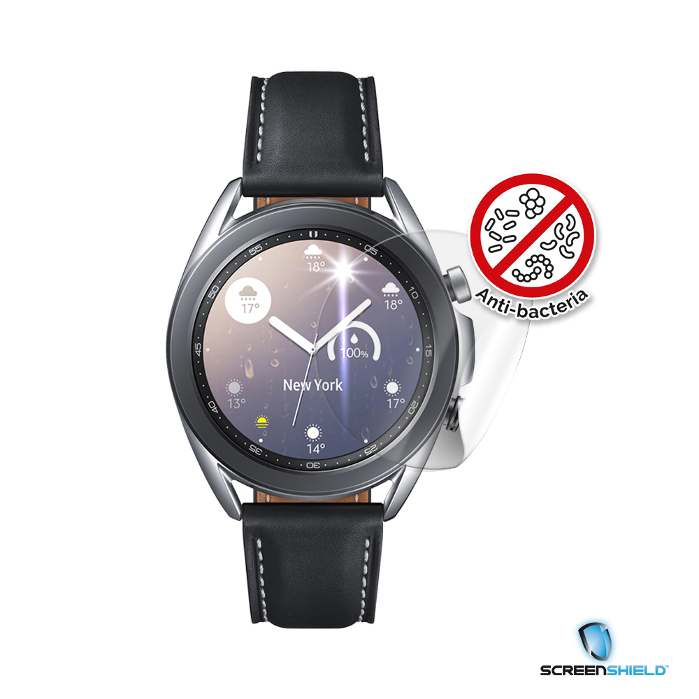 Ochranná fólie Screenshield Anti-Bacteria pro Samsung Galaxy Watch 3 (41 mm)