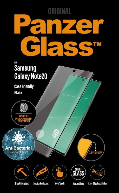 Ochranné sklo displeje PanzerGlass Premium pro Samsung Galaxy Note20, černá