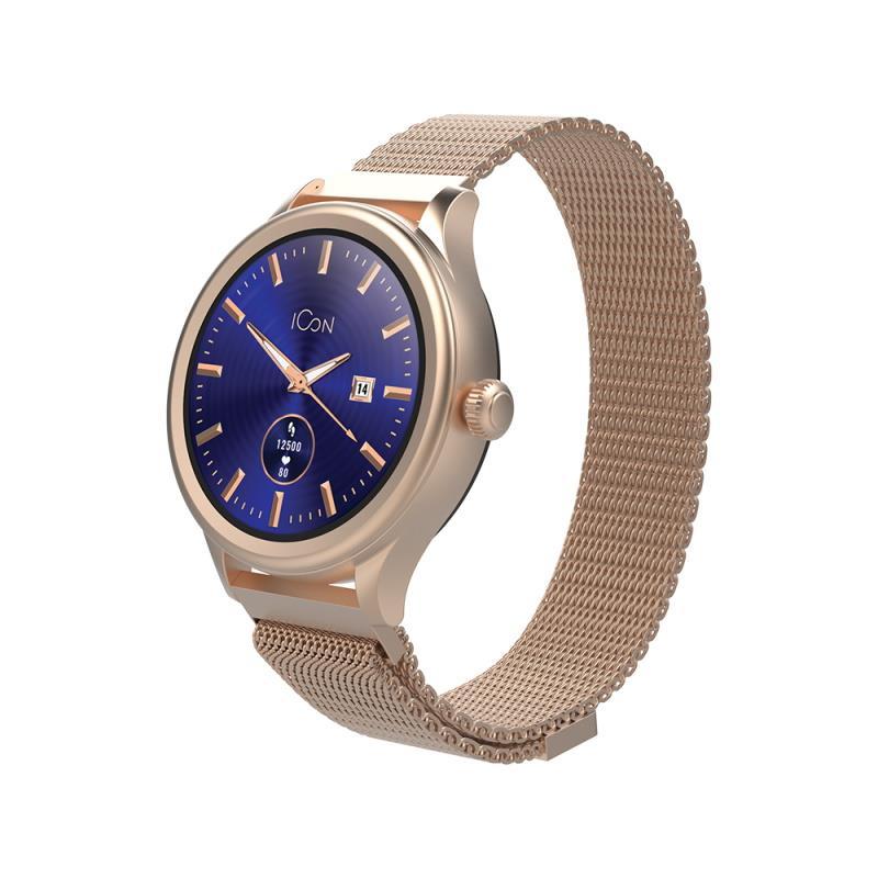 Chytré hodinky Forever Icon AW-100 AMOLED zlaté