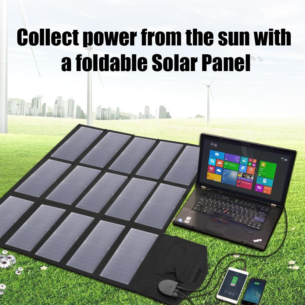 Allpowers AP-SP-012-BLA Solární Nabíječka 100W