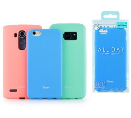 Kryt ochranný Roar Colorful Jelly pro Xiaomi Redmi Note 9 Pro, Note 9S, mátová