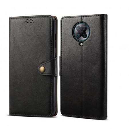 Lenuo Leather flipové pouzdro, obal, kryt na Xiaomi Redmi Note 8, black