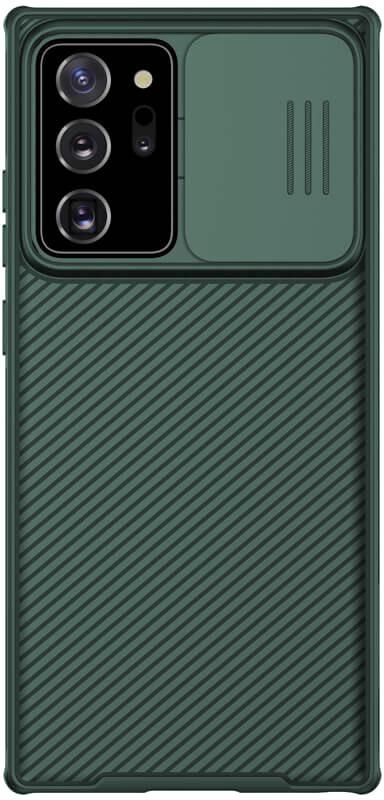 Zadní kryt Nillkin CamShield pro Samsung Galaxy Note 20 Ultra, tmavě zelená