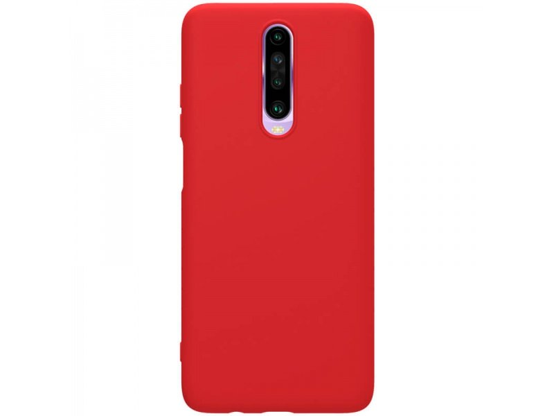 Zadní kryt Nillkin Rubber Wrapped pro Xiaomi Redmi K30 / K30 5G / Xiaomi POCO X2, červená