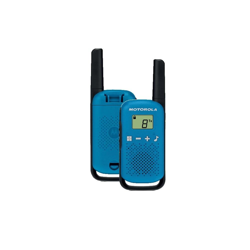 Motorola TLKR T42 modrá - sada vysílaček (2ks)