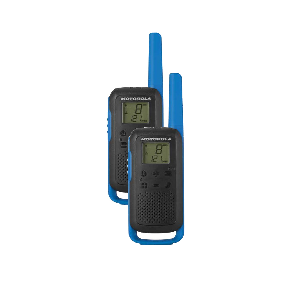 Motorola TLKR T62 modrá (2ks)