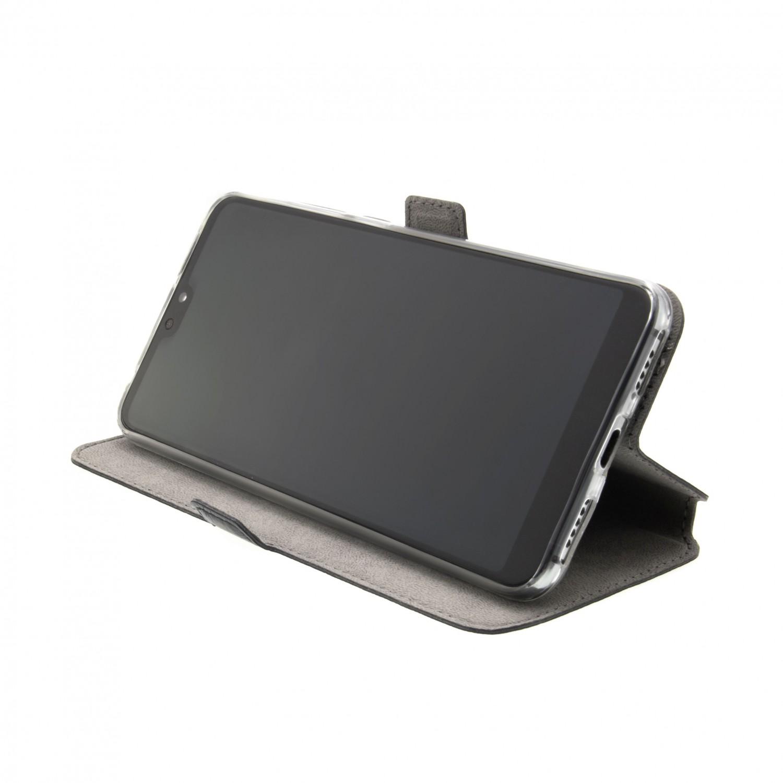 FIXED Topic flipové pouzdro, obal, kryt Motorola Moto G8 Plus black