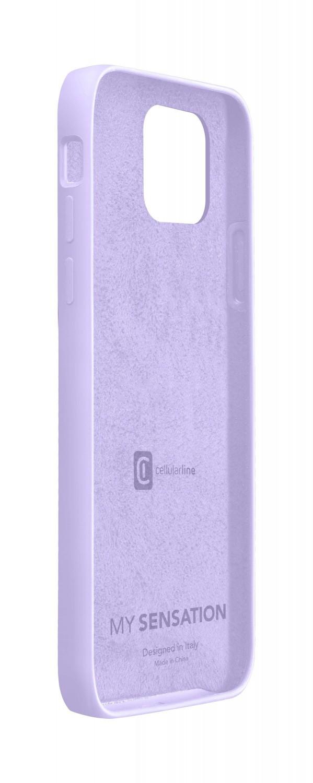 Cellularline Sensation silikonový kryt, pouzdro, obal Apple iPhone 12/12 Pro violet