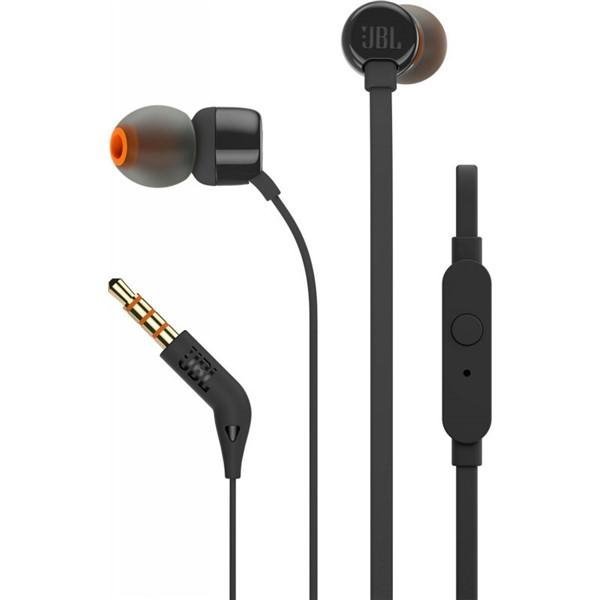 JBL T110 In-Ear Headset 3,5mm jack black