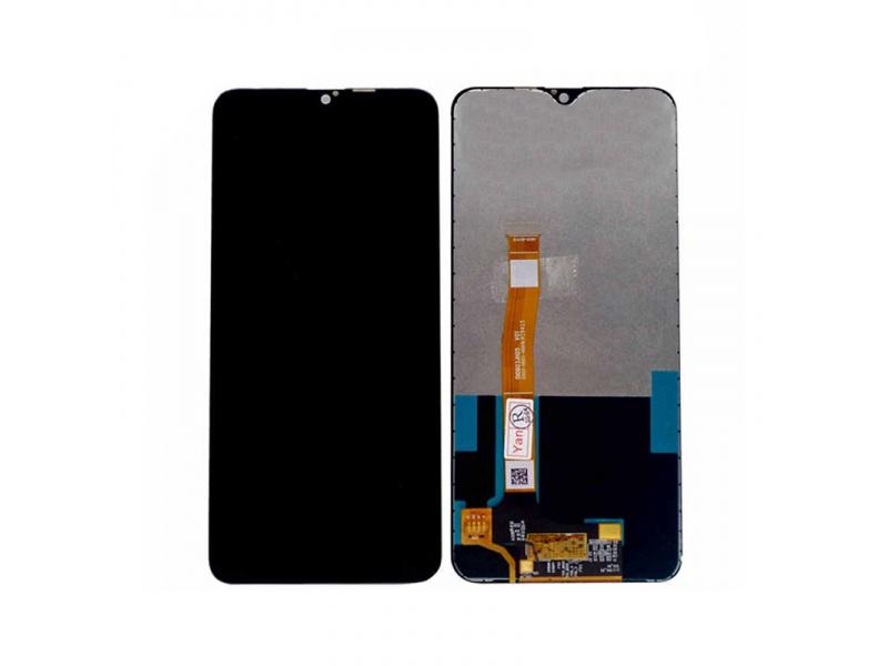 LCD + dotyková deska + přední kryt pro Realme X2 Pro, neptun blue  (Service Pack)