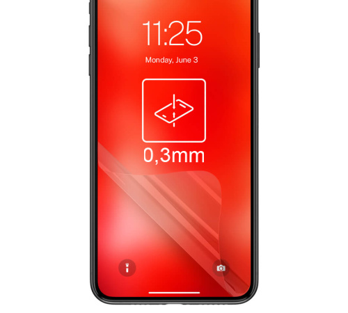 Hybridní sklo 3mk FlexibleGlass pro Samsung Galaxy Tab A 8.0 T380