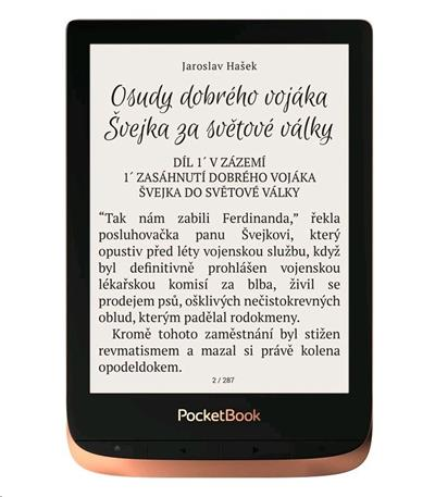 POCKETBOOK 632 Touch HD 3, 16GB, Spicy Copper