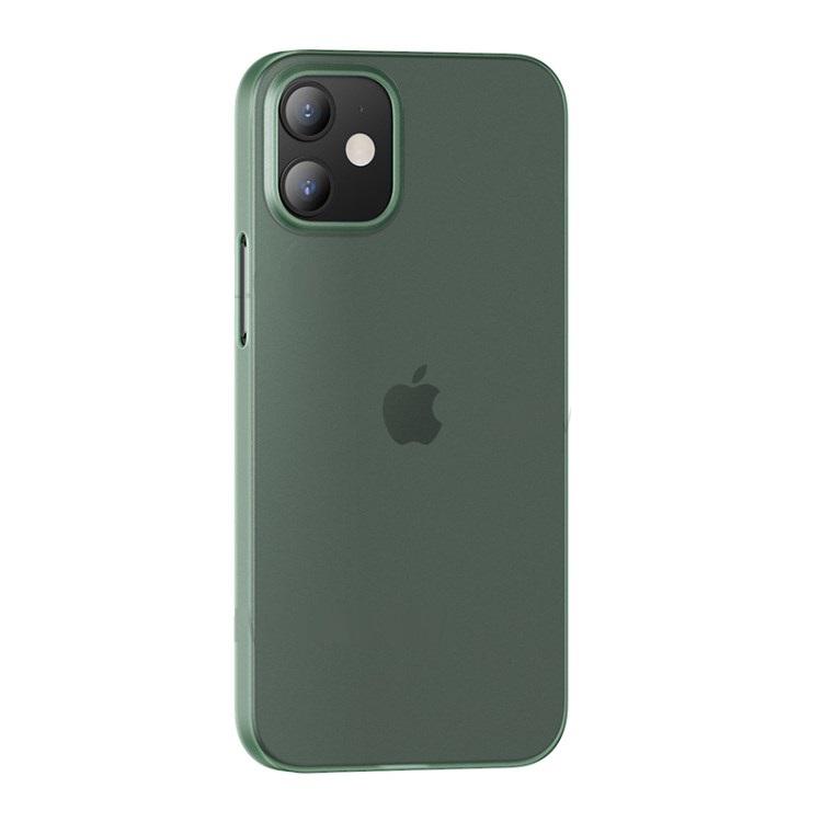 Zadní kryt, pouzdro, obal USAMS US-BH609 Gentle Series Apple iPhone 12/12 Pro transparent green