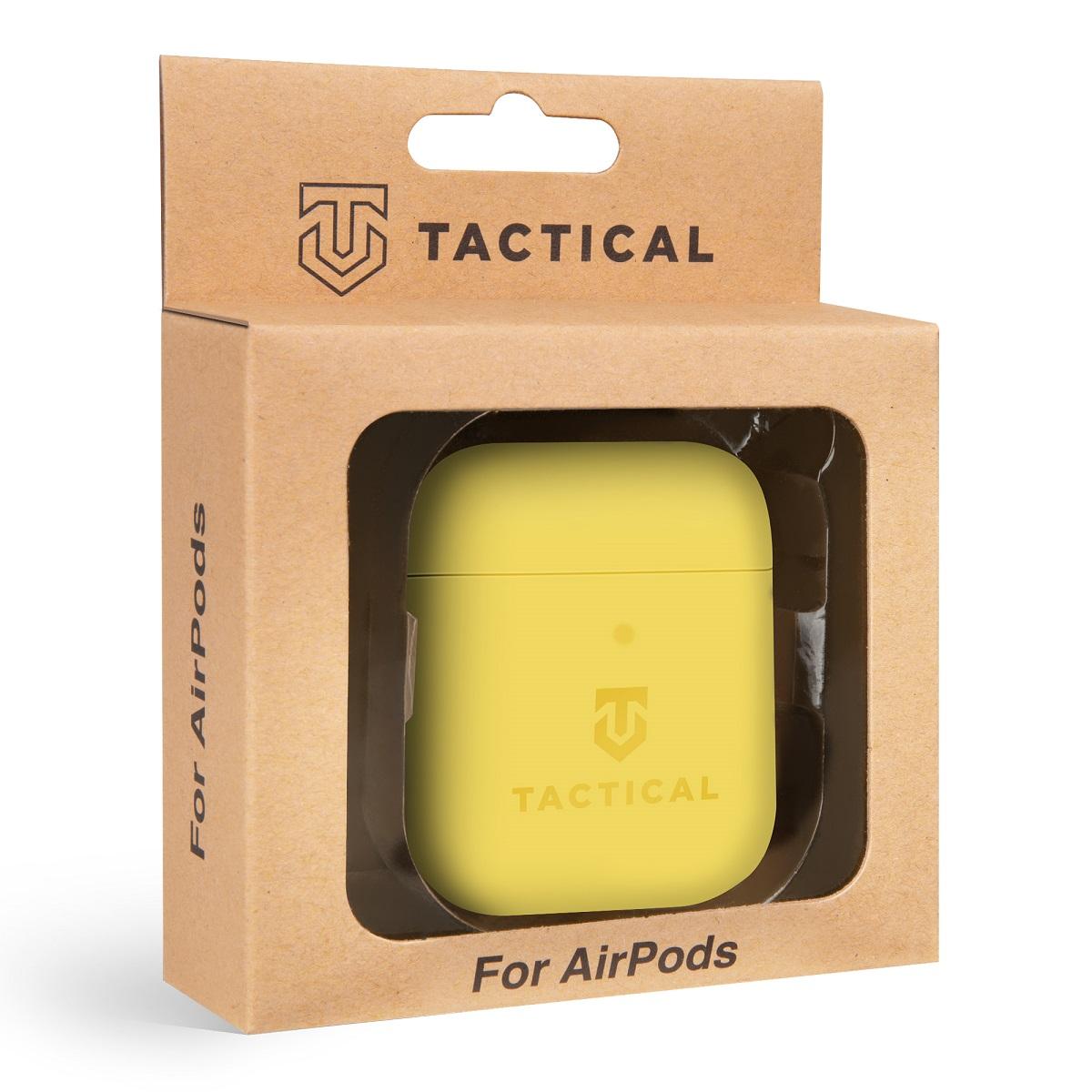 Tactical Velvet Smoothie silikonové pouzdro, obal, kryt Apple AirPods banana