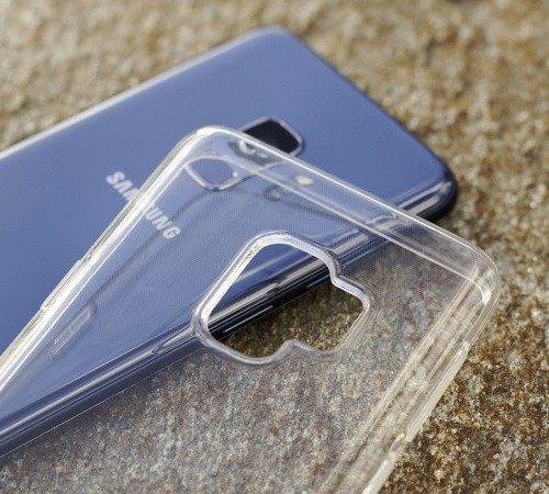 Silikonové pouzdro 3mk Clear Case pro Samsung Galaxy M11, čirá