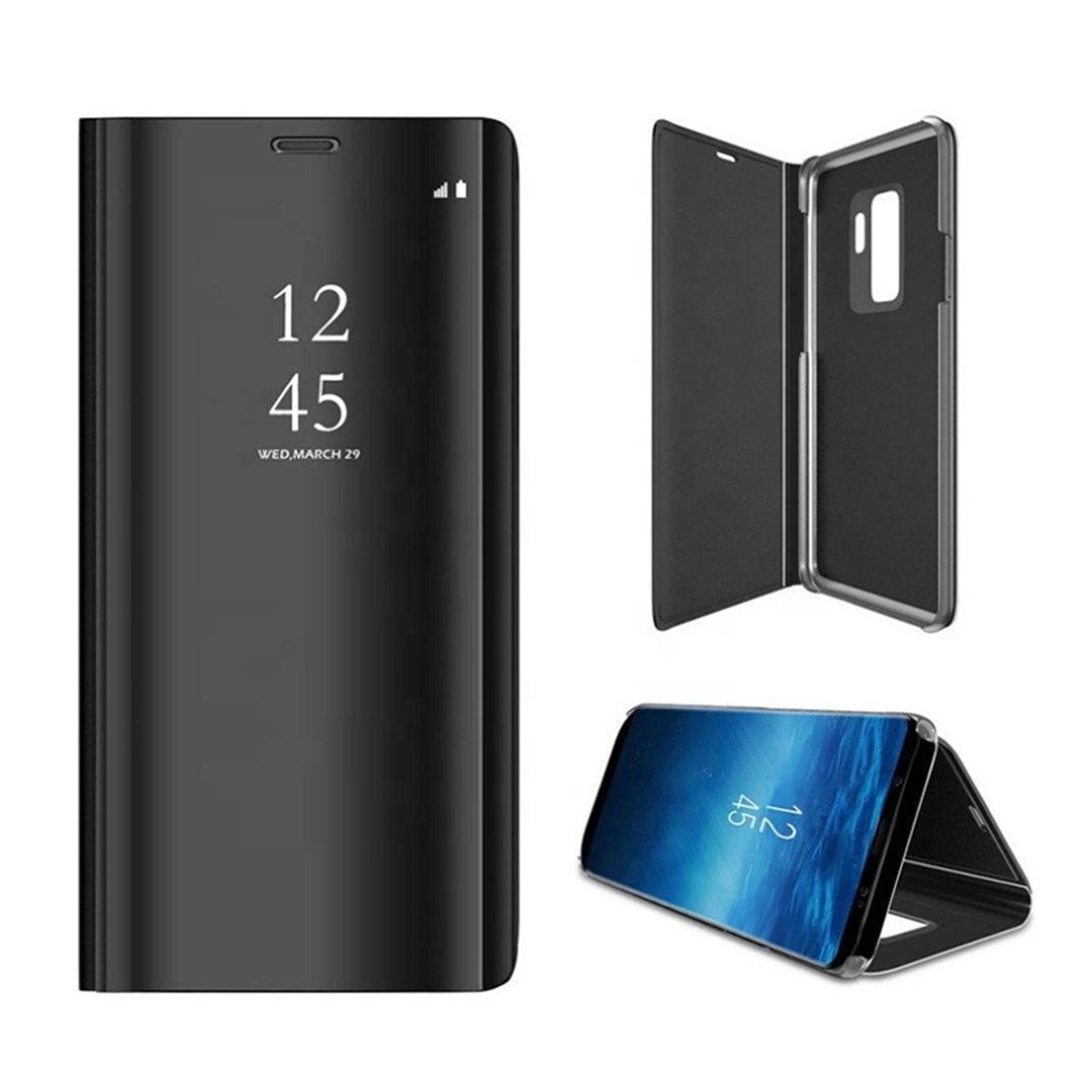Smart Clear View flipové pouzdro, obal, kryt pro Xiaomi Redmi 9 AT black
