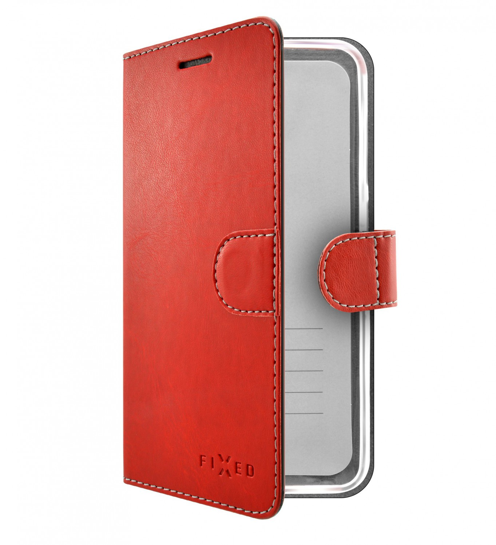 FIXED FIT flipové pouzdro, obal, kryt Samsung Galaxy A51 red