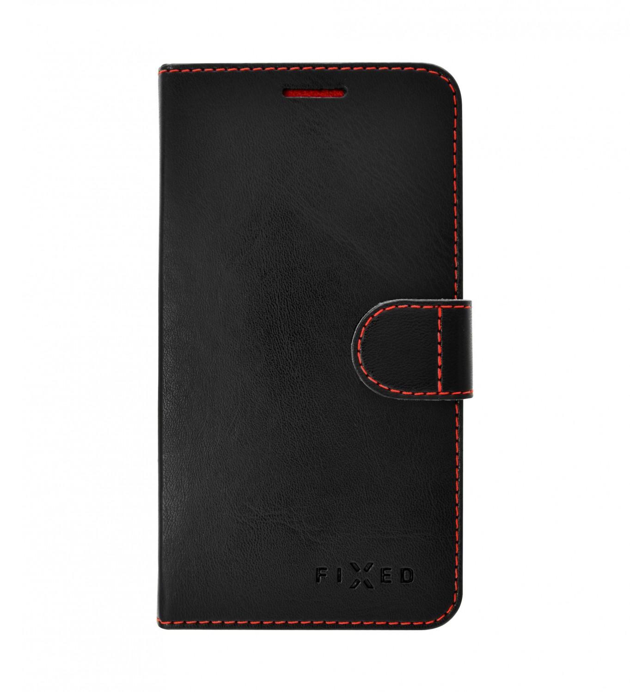 FIXED FIT flipové pouzdro, obal, kryt Samsung Galaxy A41 black