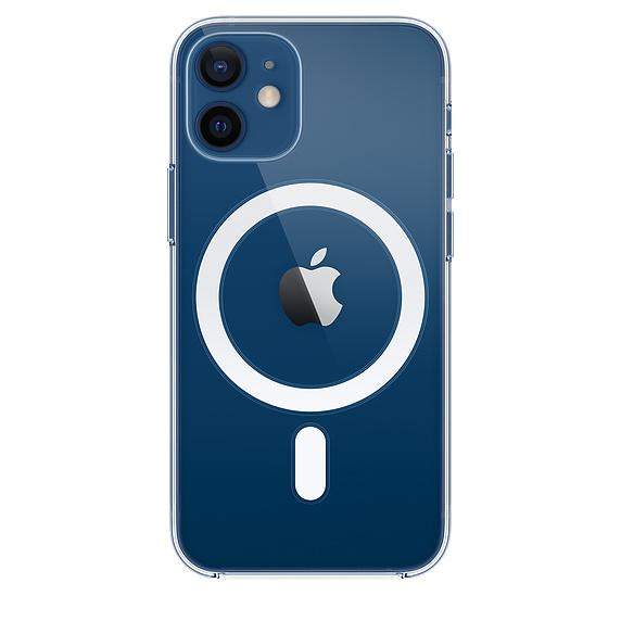 Apple zadní kryt, pouzdro, obal s MagSafe Apple iPhone 12/12 Pro clear