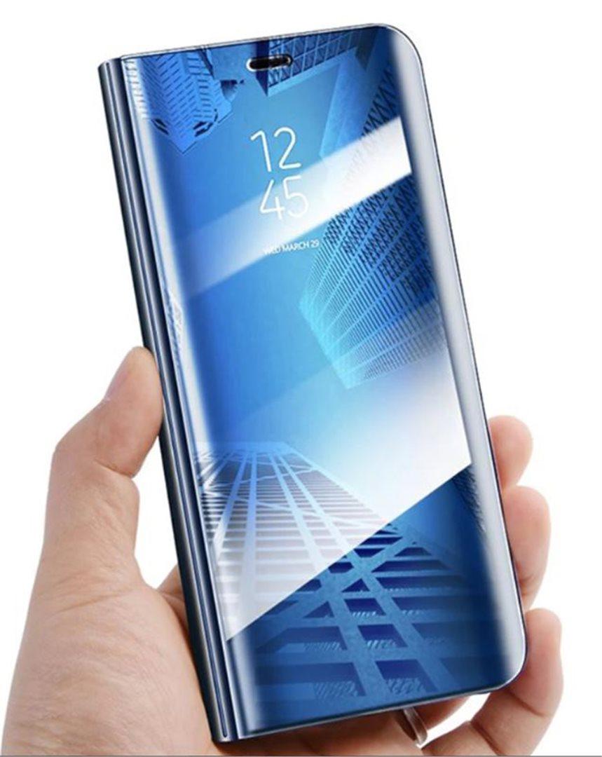Cu-Be Clear View flipové pouzdro, obal, kryt Huawei Y6P blue