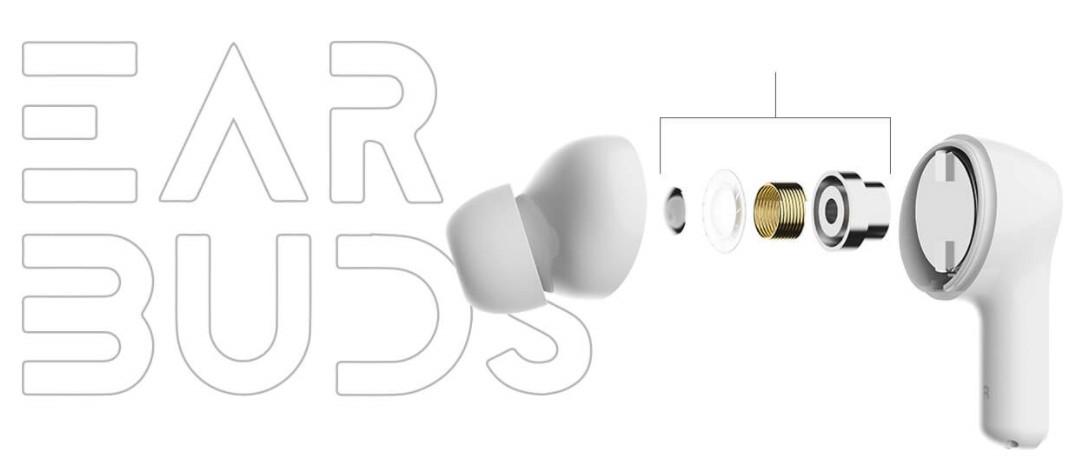 Bezdrátová sluchátka Honor Choice True Wireless, bílá
