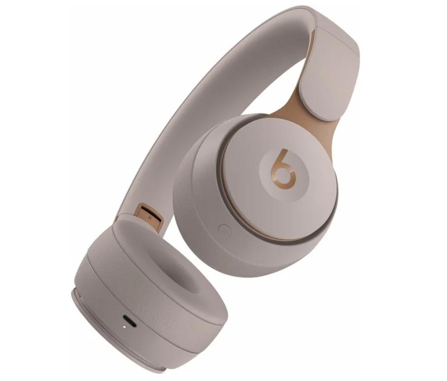 Bezdrátová sluchátka Beats Solo Pro Wireless NC, šedá