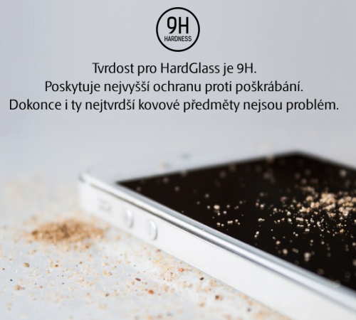 Tvrzené sklo 3mk HardGlass pro Xiaomi Redmi Note 7, transparentní
