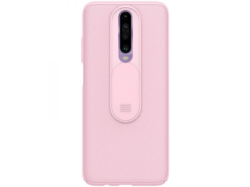 Zadní kryt Nillkin CamShield case pro Xiaomi Redmi K30/K30 5G, růžová