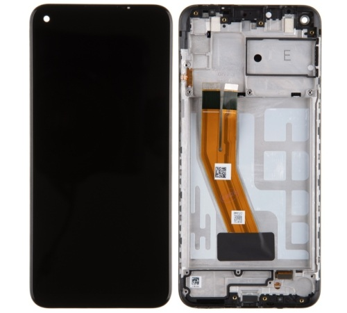 LCD + dotyk pre Samsung Galaxy M11, black (Service Pack)