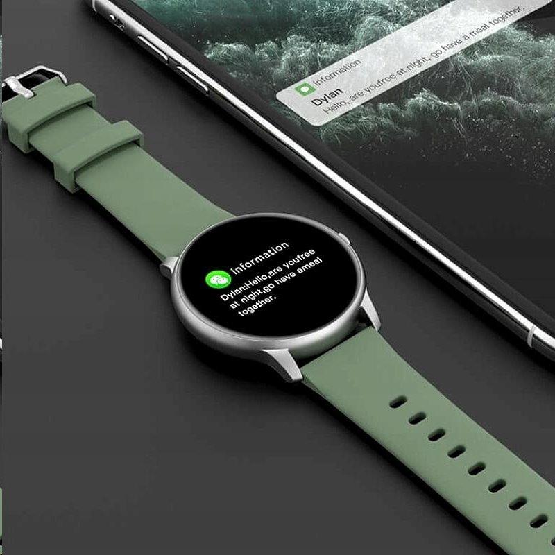 IMI Smart Watch zelená/stříbrná