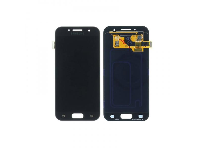 LCD + dotyk pre Samsung Galaxy A3 2017, black (Service Pack)