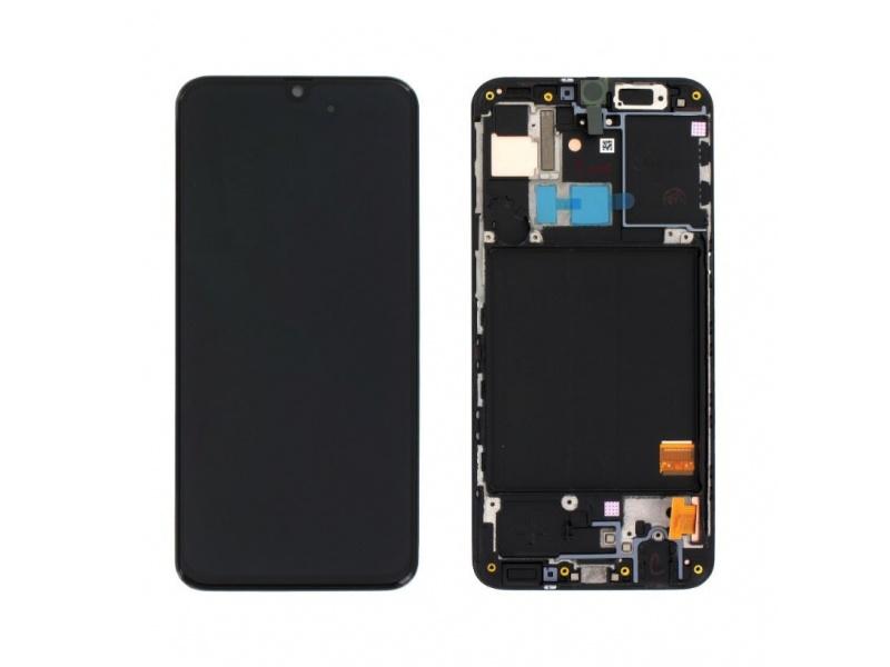 LCD + dotyk pre Samsung Galaxy A31, black (Service Pack)